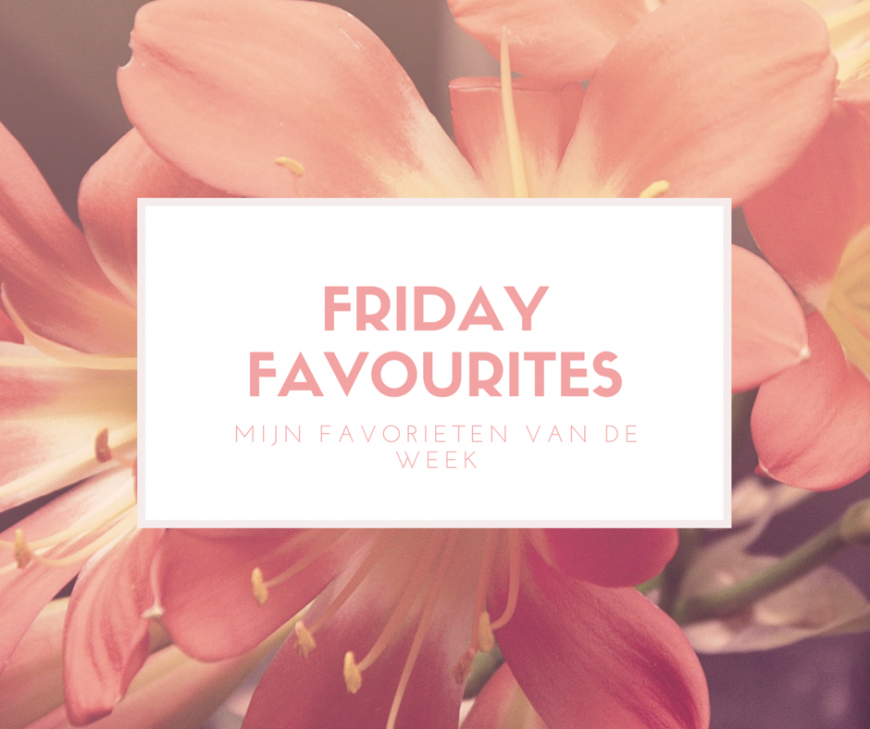 Friday favourites (1)