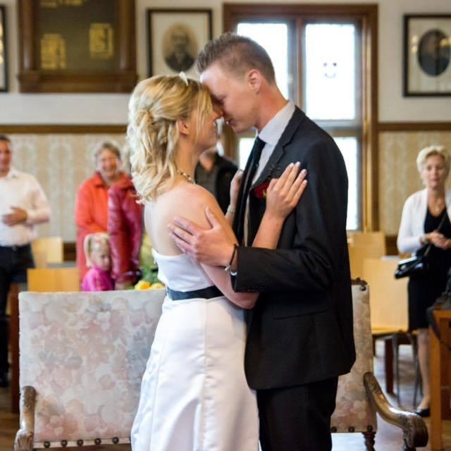 Een leren huwelijk jaar getrouwd joyfromjoyce
