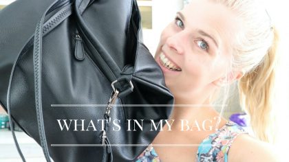 what's in my bag-