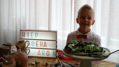 Aron 7 jaar
