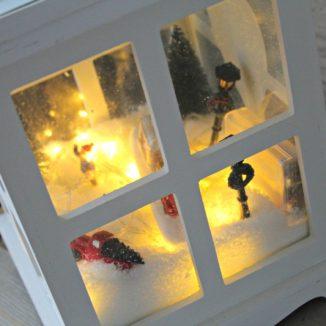 kerst windlicht 1